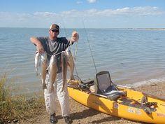 Hobie Kayak.  Saltwater fishing with Josh MacNaughton.  Great Tips for fishing Gulf Coast Texas!