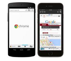 Google Chrome para dispositivos móveis