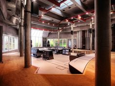 The Big Room recording studio inside Real World Studios. Courtesy of the studio