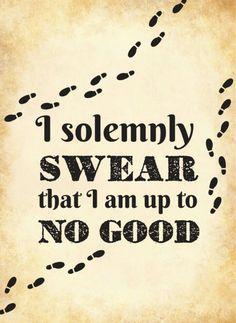 'solemnly swear' ❤