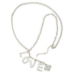 LOVE LETTER NECKLACE- $14.00.