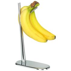 Support Dear Charlie / Pour bananes Chrome - Alessi