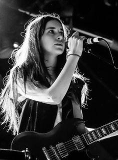 Danielle Haim lead singer for American rock band Haim