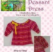 Baby Peasant Dress or Top Sewing Pattern - via @Craftsy