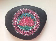 Stone mandala Lotus