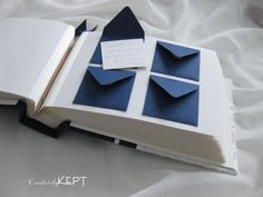 Mini Envelope Guest Book