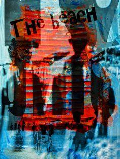'The beach' von Gabi Hampe bei artflakes.com als Poster oder Kunstdruck $20.79