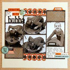 Bobbing With Bubba (Scraptastic Club) - Scrapbook.com