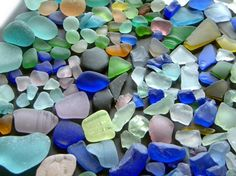 could spend all day looking for seaglass.