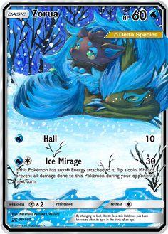 Zorua Delta Species Custom Pokemon Card