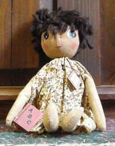 Carole a Pearson's Simply Primitives doll for $17.99 at the Cottage Gift Shop - Elmira, New York