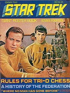 Star Trek Giant Poster Book Voyage Fourteen