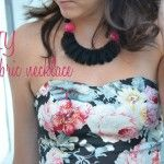 DIY – fabric necklace