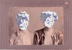 Glitched Vintage Photos Offer An Artistic Perspective On Our Fragmented Memory | The Creators Project