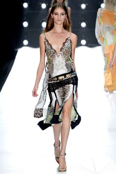 #RobertoCavalli SS 2013 fashion show
