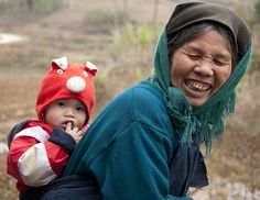 A #mother and her #son in #Vietnam. That's the #MamaEffect.