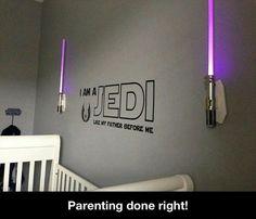 I Am A Jedi...baby decor!!