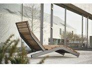Bain de soleil en acier et bois RIVAGE by mmcité1
