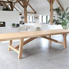 Chunky Dining Table, Solid Oak Dining Table, Scandinavian Dining Table, Dinning Table Design, Timber Dining Table, Custom Dining Tables, Dining Room Table, Fine Furniture, Table Furniture
