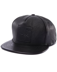 5c075192890 All leather hat by Defend Paris! Available at DrJays.com! Leather Hats