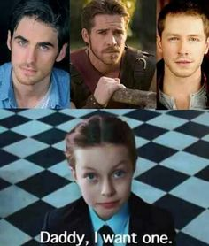 One? I want them all. Throw Eion Bailey (Pinocchio) in there too!