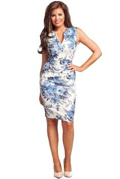 Jessica Wright Bluebelle Floral Dress