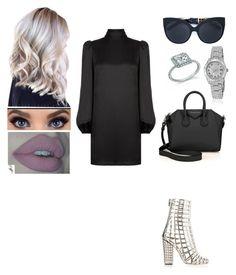 """Sans titre #379"" by insafsat on Polyvore featuring mode, Alexander McQueen, Yves Saint Laurent, Givenchy, Linda Farrow et Rolex"