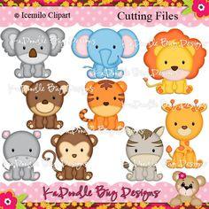 Paper Piecing Pattern, Cutting File, Scrapbook, Silhouette Studio, SVG File, MTC, SCAL, Icemilo Clipart