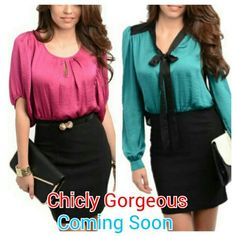Chicly Gorgeous Coming Soon