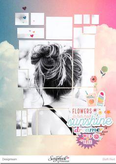 Flowers in my hair... - Scrap Sweet Scrap