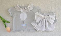 e9504eb2e Conjunto unisex color gris · Colección primavera-verano · 100 % algodón. ·  Precioso