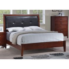 online shopping for Furniture America Broadway Platform Bed Storage Drawer Light, Queen, Brown Cherry from top store. See new offer for Furniture America Broadway Platform Bed Storage Drawer Light, Queen, Brown Cherry Queen Platform Bed Frame, Queen Size Platform Bed, Platform Bed With Storage, Platform Beds, Bed Frame With Drawers, Bed Frame With Storage, Bed Storage, Storage Drawers, Storage Headboard
