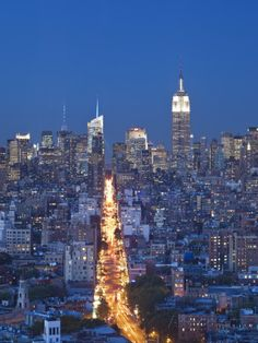 Empire State Building and Midtown Skyline, Manhattan, New York City, USA Photographic Print by Jon Arnold at AllPosters.com