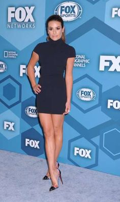 The Best Legs in Hollywood: The 30 All‐Time Best Pairs:    Lea Michele
