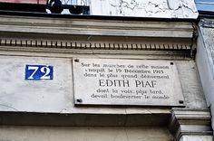 Edith Piaf in Belleville