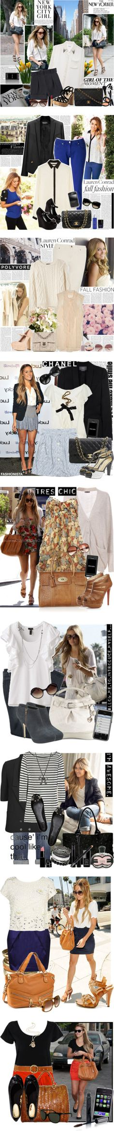 """""""Lauren Conrad style"""" by fashionqueengirl ❤ liked on Polyvore"""