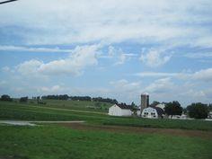 Beautiful farm.