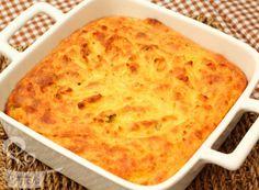 Suflê de batata com queijo via @naminhapanela