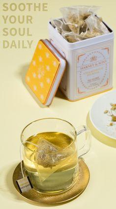 Calming Harney & Sons Chamomile #Tea