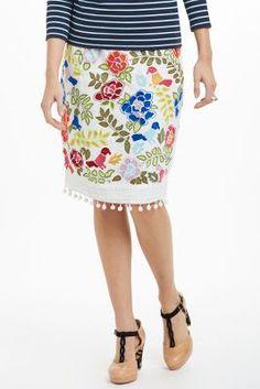 La Festa Pencil Skirt. @Anthropologie  #FlowerShop #Anthropologie