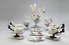 Servizio da tè, Antonia Campi, 1951 Società Ceramica Italiana, courtesy MIDeC - Museo Internazionale Design Ceramico, Cerro di Laveno Mombello (VA)
