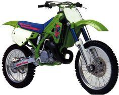 1991 Kawasaki KX125. My 1st & only 2 stroke bike. It was ok untill U hit that power band then OMG!!!