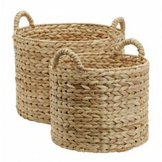 Get all your stuff together in these fantastic baskets made of water hyacinth in Vietnam.
