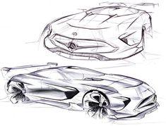 Car Design Sketch, Car Sketch, Fury Road, Future Concept Cars, Industrial Design Sketch, Sketch Pad, Cool Sketches, Automotive Design, Auto Design