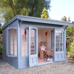 Malvern Stretton Summer House The Malvern Stretton Summerhouse is an attractive pent roof styled summerhouse, ideal to fit into spaces where the external roof height …