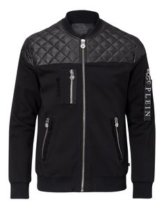 "PHILIPP PLEIN SWEAT JACKET ""COMMANDER"". #philippplein #cloth #"