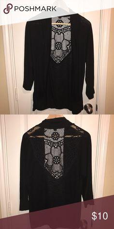 Black Cardigan Comfortable, thin cardigan. Sweaters Cardigans