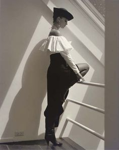 Calvin Klein Fashion, 1983, Horst P Horst