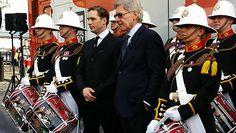 Tom Hardy e Harrison Ford dar o seu apoio como Royal Marines começar tambor tentativa maratona em Londres | Guinness World Records