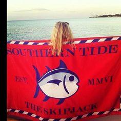 Skipjack Beach Towel